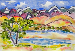 watercolor-DiazLakeatLonePine_large