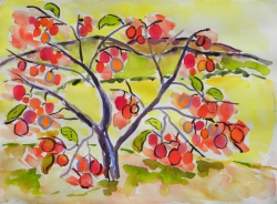 watercolor-Persimmon#2-040_large