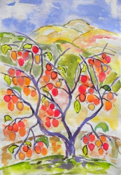watercolor-Persimmon#4-022_large