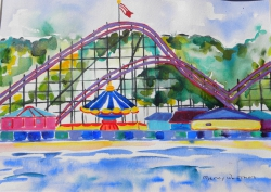 watercolor-SantaCruzRollercoaster625_large